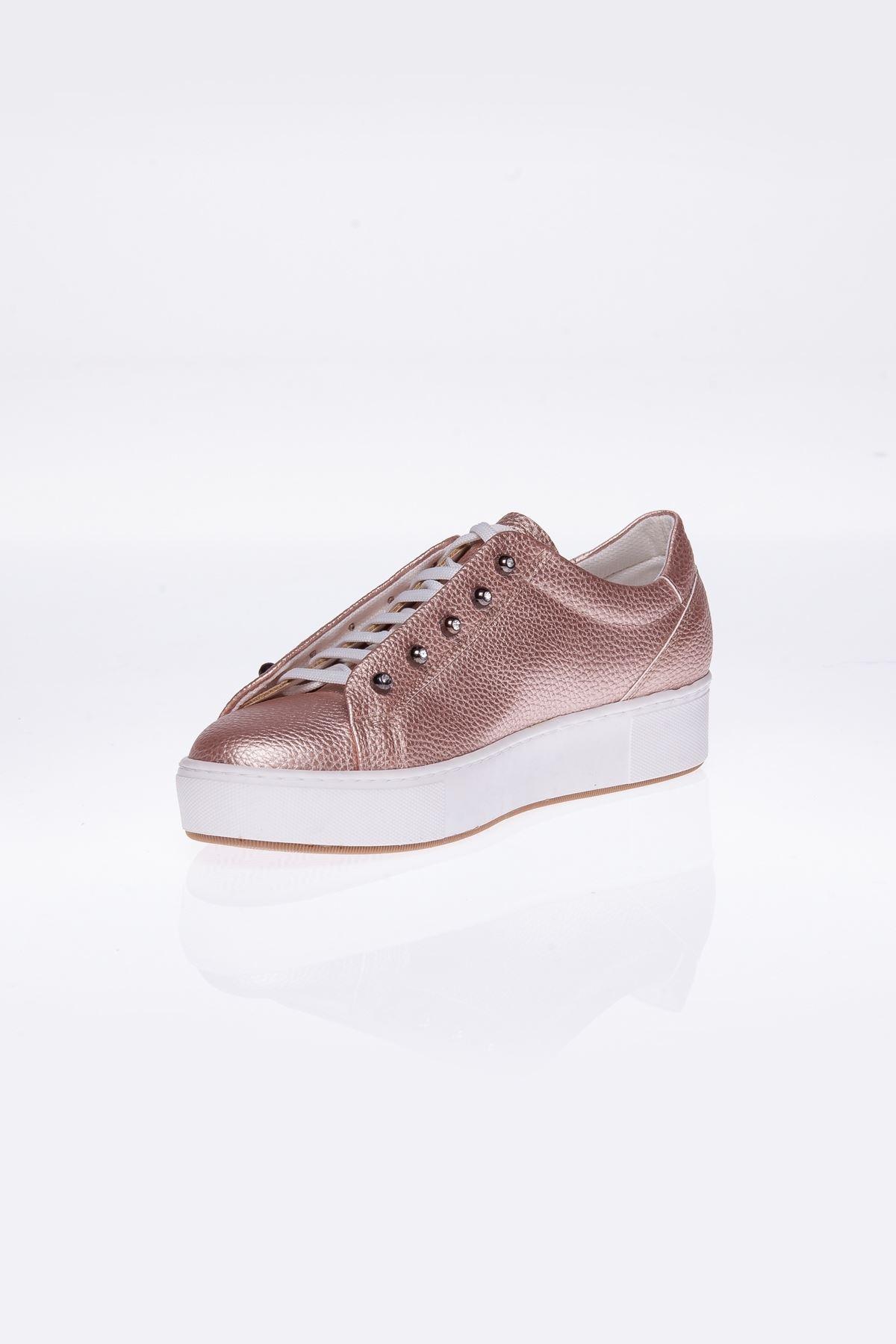 Dora Pudra Gizli Bağcıklı Bayan Spor Ayakkabı