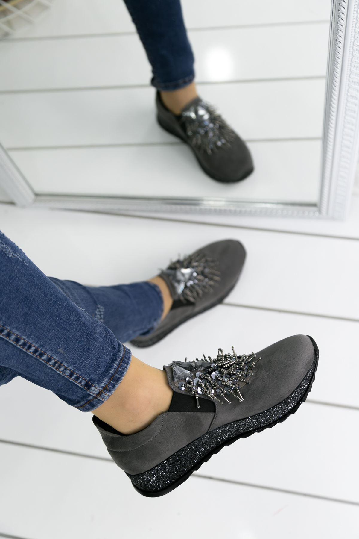 Afri Füme Bayan Spor Ayakkabı