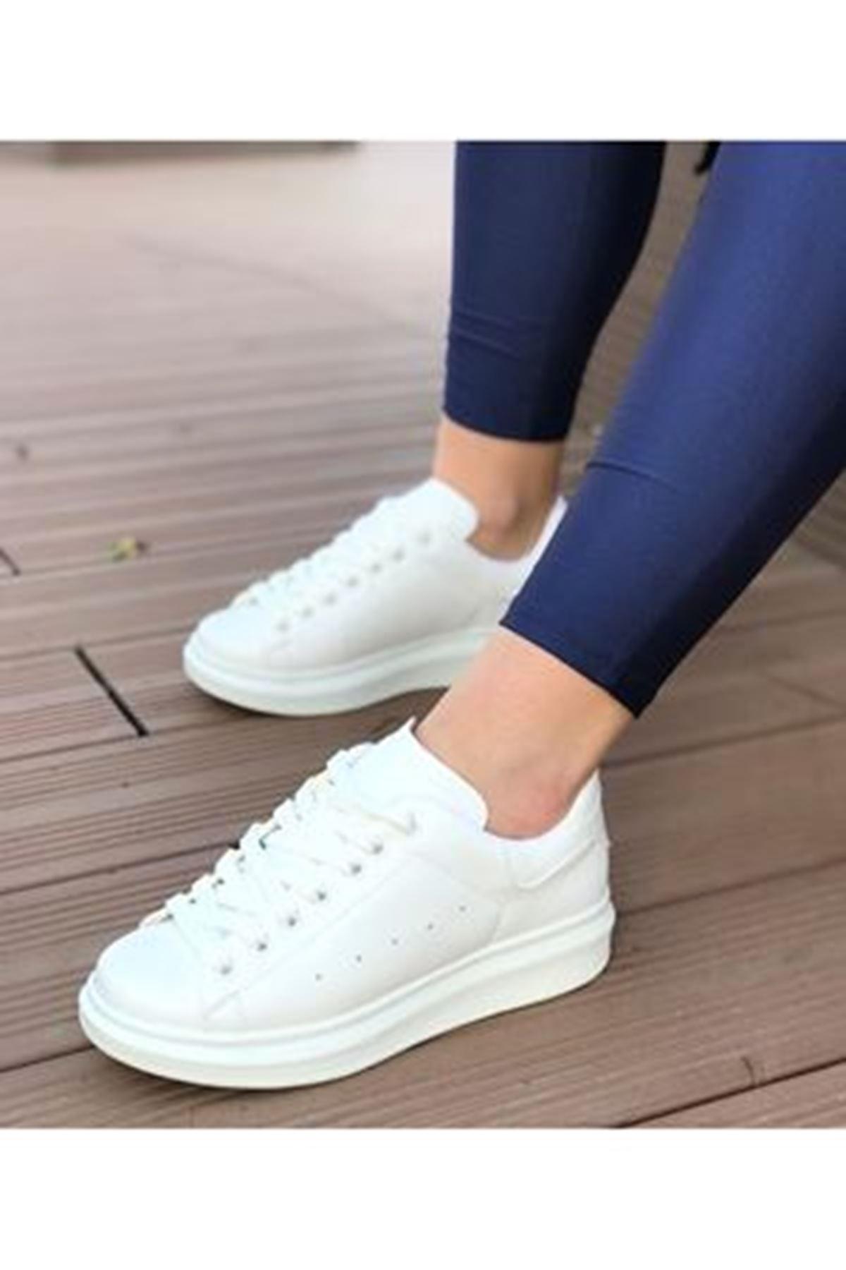 Rupi Beyaz Bayan Spor Ayakkabısı