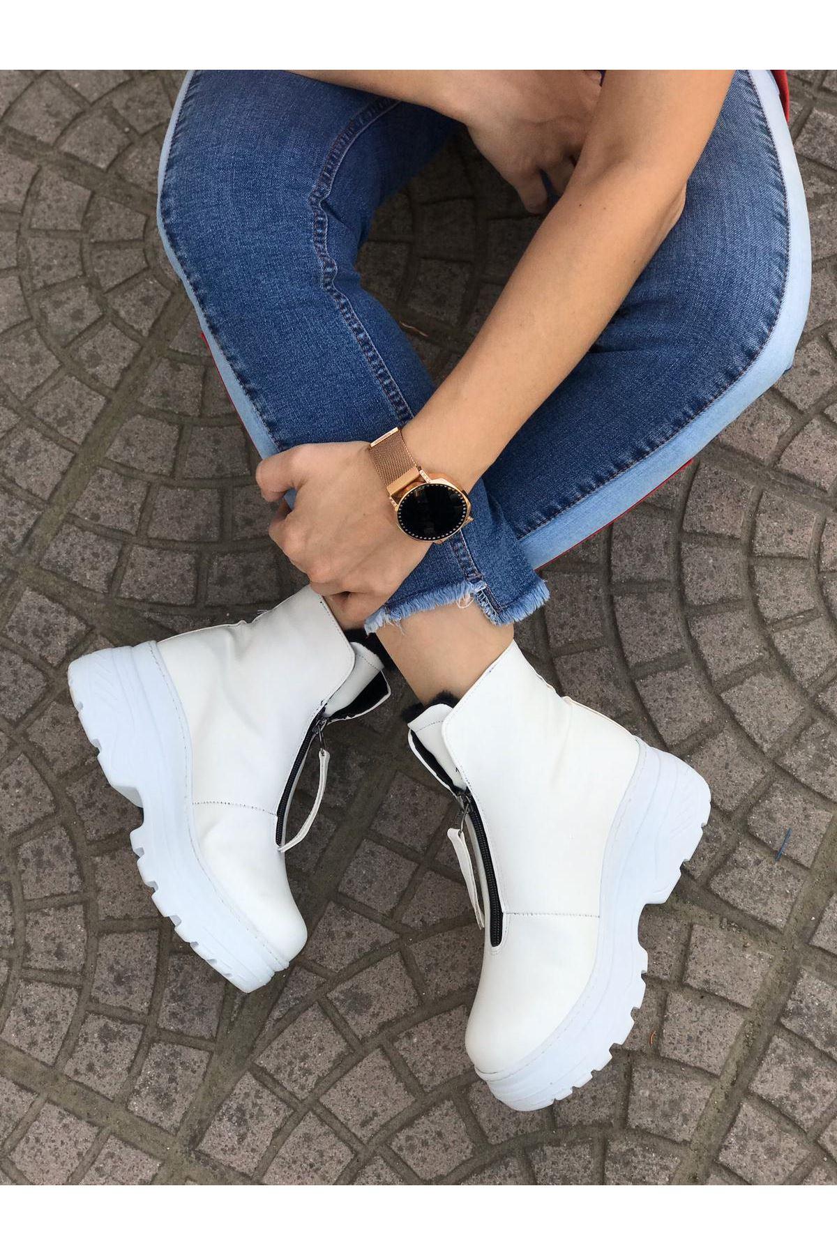 Layd Beyaz Cilt Bayan Bot
