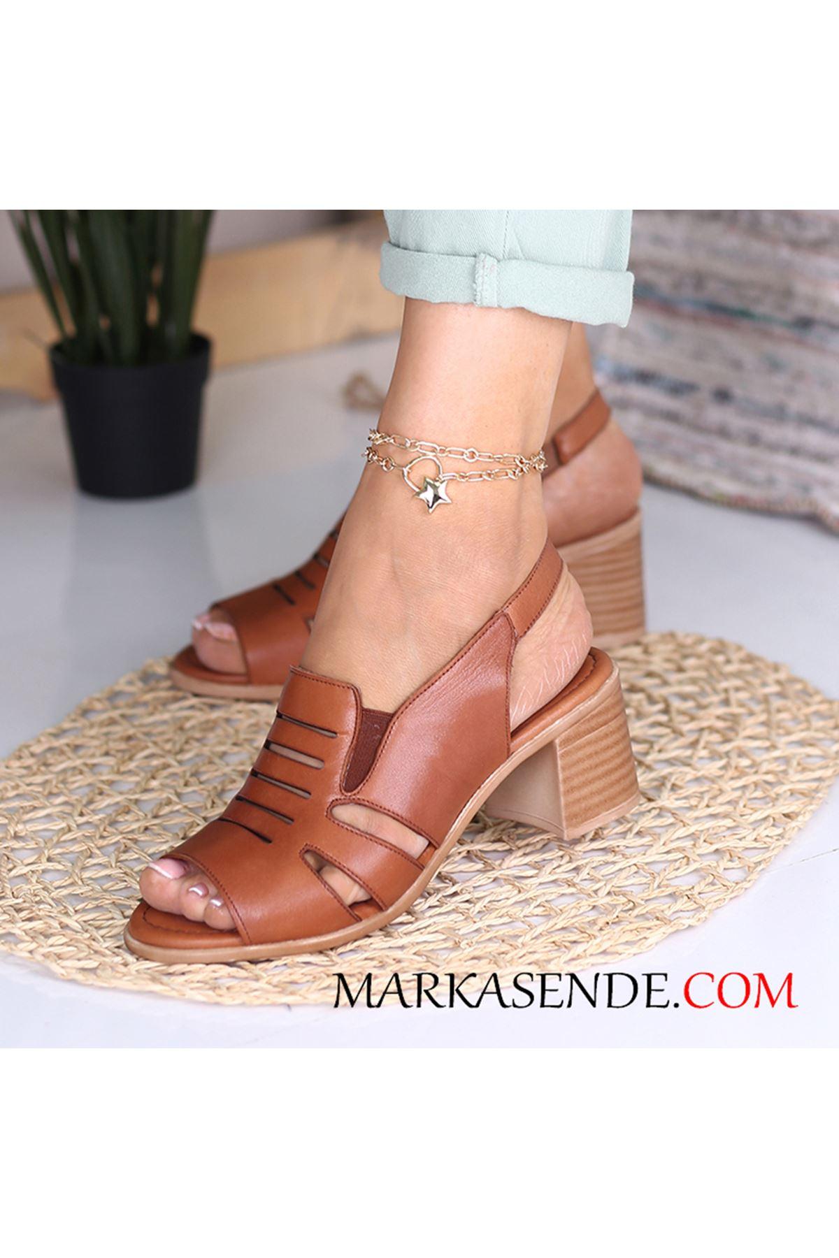 Ewin Taba Hakiki Deri Bayan Ayakkabı