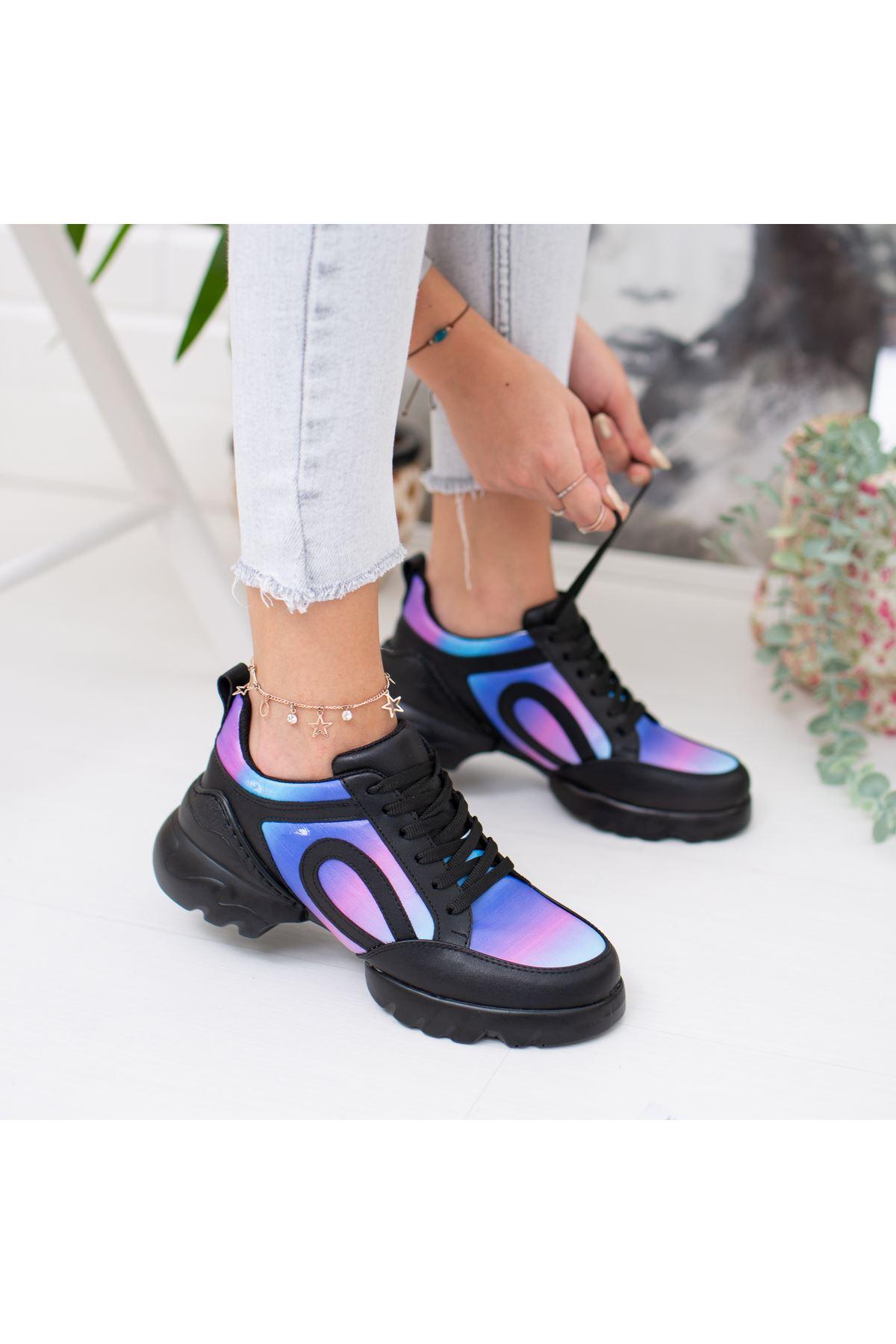 Vista Mor Ortapedik Bayan Spor Ayakkabı
