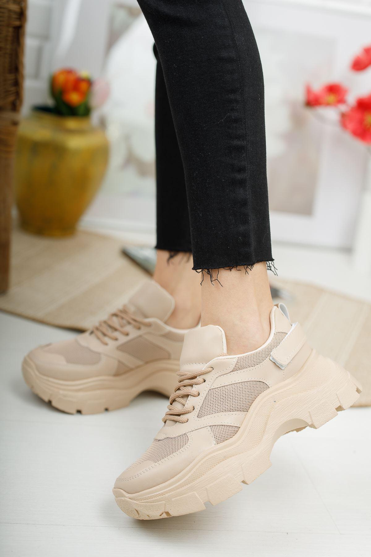 Aria Vizon Fileli Kadın Spor Ayakkabı
