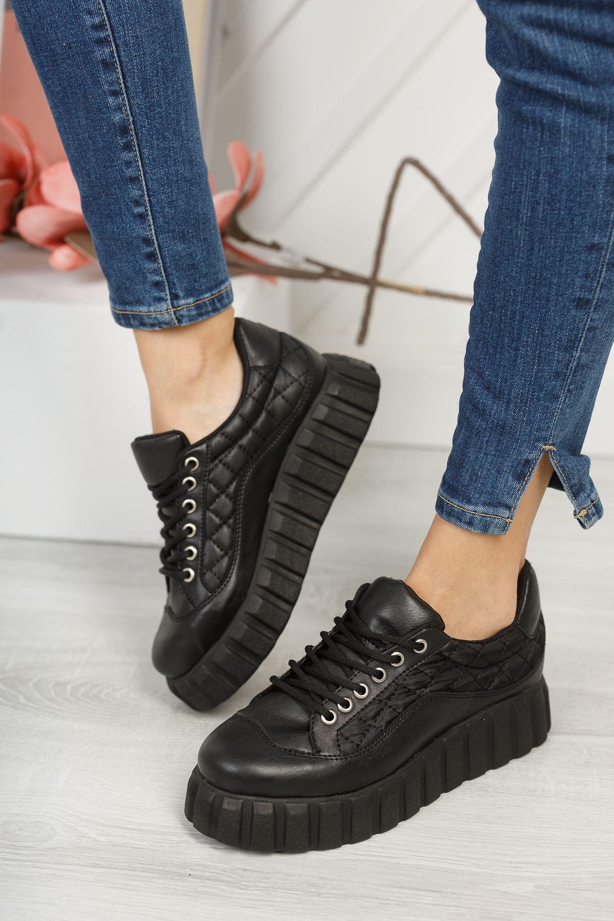Juliet Siyah Kadın Spor Ayakkabı