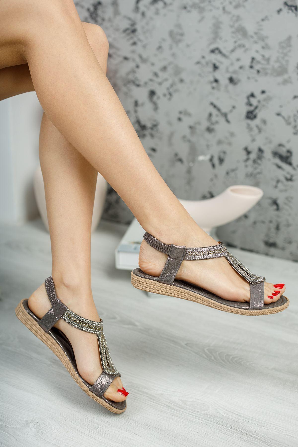 May Bakır Kadın Sandalet