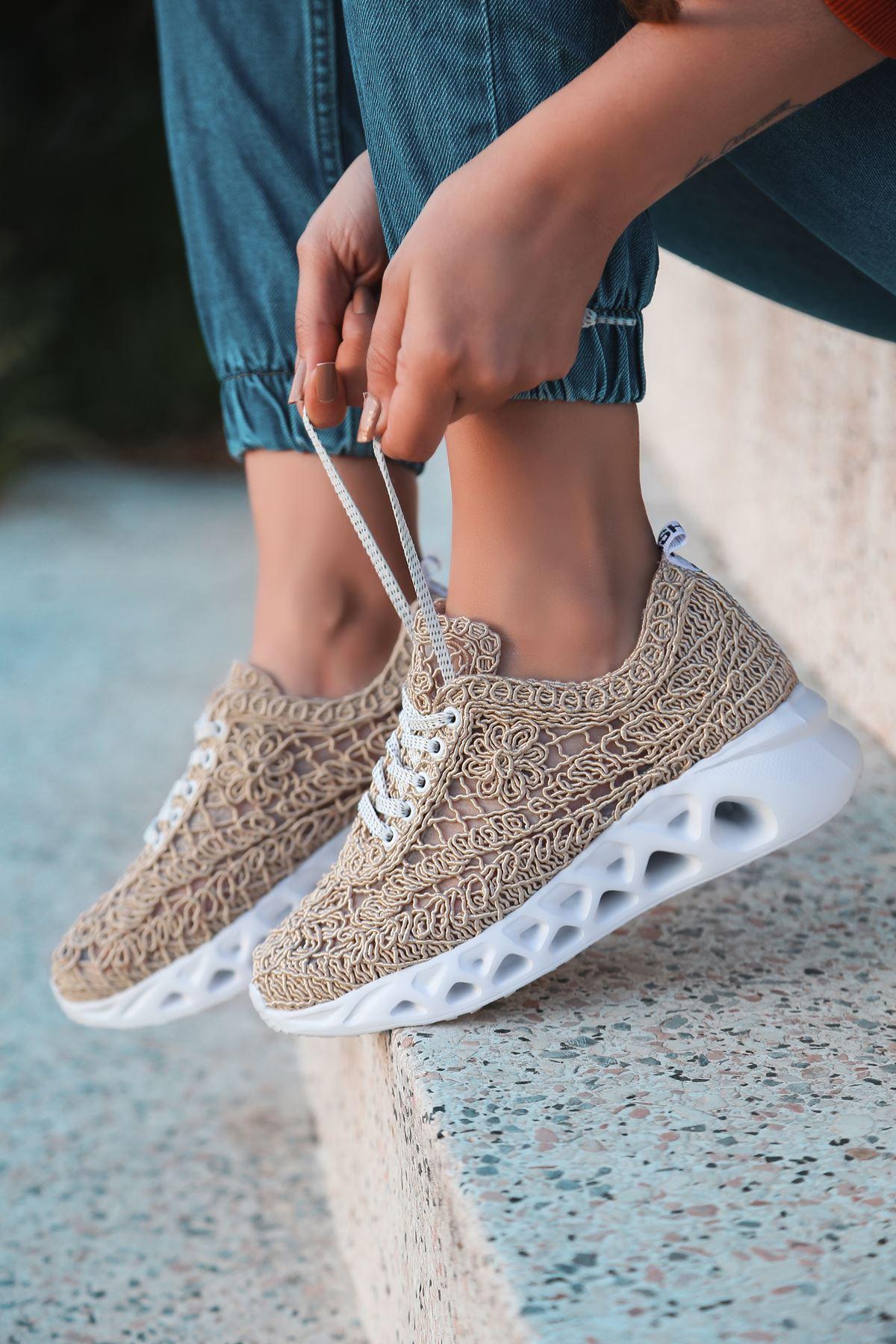 Binevş Vizon Kadın Spor Ayakkabı