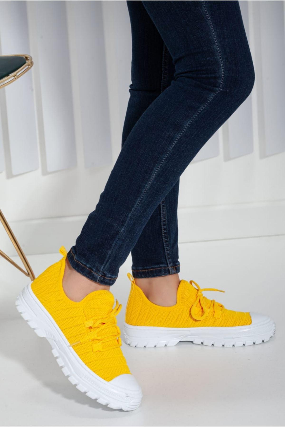 Brook Sarı Günlük Kadın Sneakers