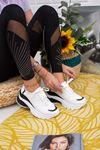 Kayke Beyaz Ortapedik Bayan Spor Ayakkabı